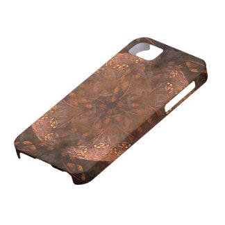 Guld- förkoppra Shimmer iPhone 5 Hud