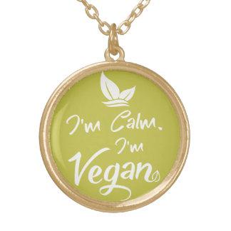 Guld- fullföljanderundahalsband för stolt Vegans Guldpläterat Halsband