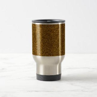 Guld- glitter resemugg