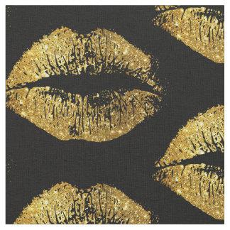 Guld- glitterläppar