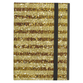Guld- Glittery randar Fodral För iPad Air