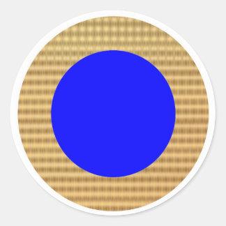 Guld- gränsgåvafilnamn runt klistermärke