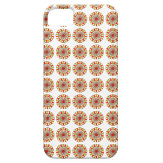 Guld- gränsSOLROSChakra Mandala iPhone 5 Case-Mate Fodraler