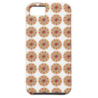 Guld- gränsSOLROSChakra Mandala iPhone 5 Case-Mate Skydd