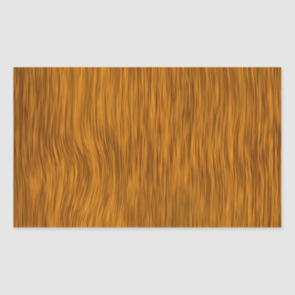 Guld- grov Wood strukturbakgrund Rektangulärt Klistermärke