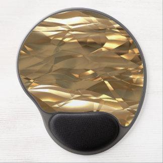 Guld guld, guld! - Elegantt guld- mönster Gel Musmatta
