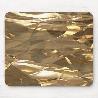 Guld guld, guld! - Elegantt guld- mönster Musmatta