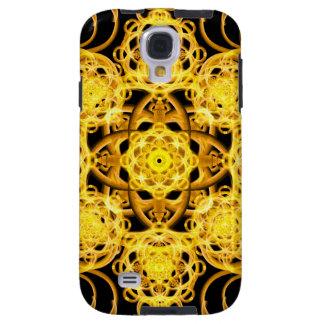 Guld- harmoniMandala Galaxy S4 Fodral