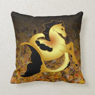 Guld- havshäst kudde