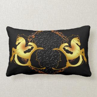 Guld- havshäst lumbarkudde