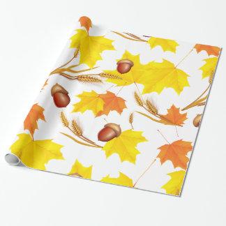 Guld- höst presentpapper