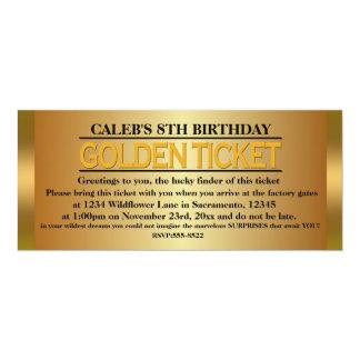 GULD- inbjudan för händelse för