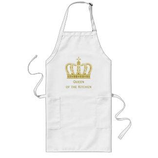 Guld- kunglig krona + din backgr. & idéer långt förkläde