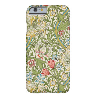 Guld- lilja av William Morris Barely There iPhone 6 Skal