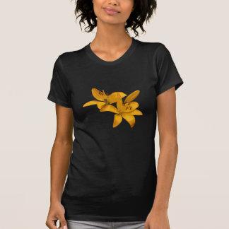 Guld- liljar tee shirt