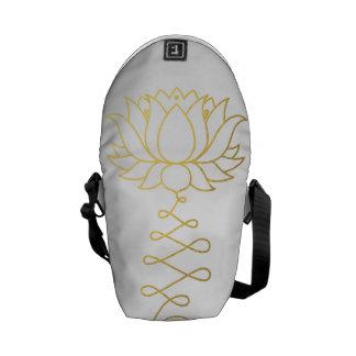 Guld- lotusblommaDharma messenger bag