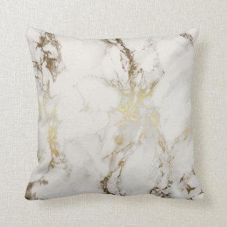Guld- marmor kudder kudde