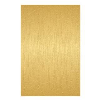 Guld- med struktur brevpapper