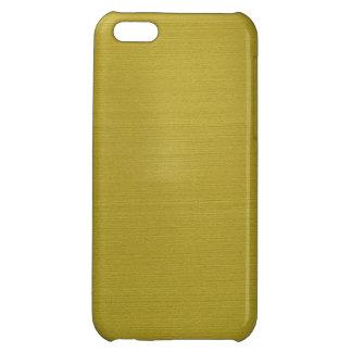 Guld- metalliskt iPhone 5C skydd