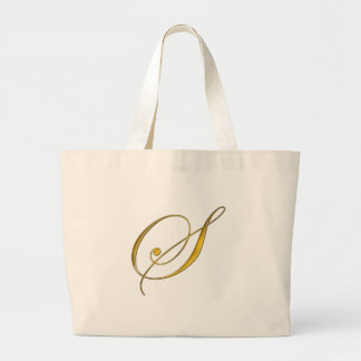 Guld- Monogram S Tygkassar