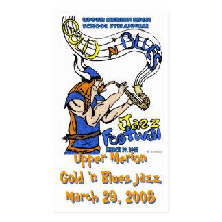 Guld 'n slösar kortet för Jazz 2008 Visitkort