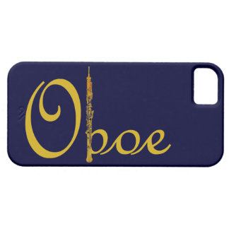 Guld- Oboe iPhone 5 Cases