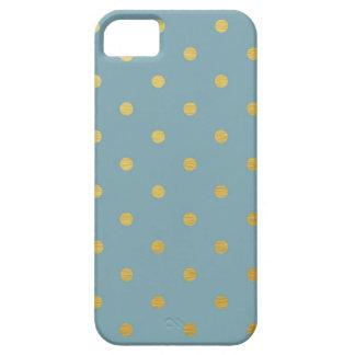 Guld omkullkastar modern polka dots kritiserar iPhone 5 skal