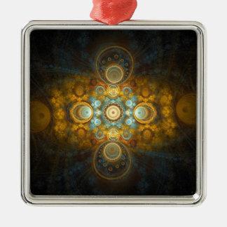Guld- orientalisk design julgransprydnad metall