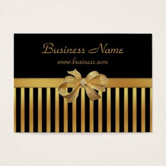 Guld- pilbåge för elegant rand för set av breda visitkort