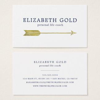Guld- pilvisitkort visitkort