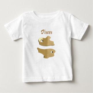 Guld- Pisces undertecknar Tröjor