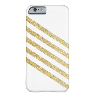 Guld- rand barely there iPhone 6 skal