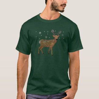 Guld- renSnowfall Tee Shirts
