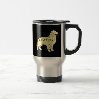 Guld- Retrieverbra som den guld- travel mug Resemugg
