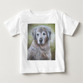 Guld- Retrieverdesign T Shirt