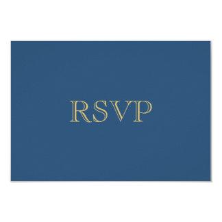 Guld- romansk kricka för art décoOSA kort | 8,9 X 12,7 Cm Inbjudningskort
