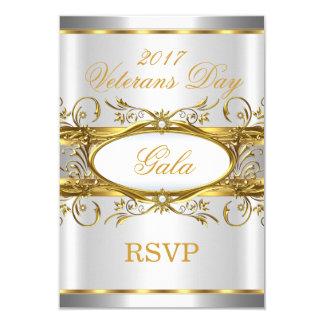 Guld- silvervit för OSA och guldplattaparty 8,9 X 12,7 Cm Inbjudningskort