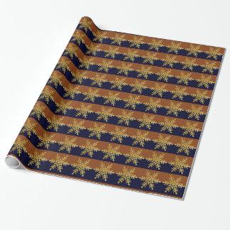 Guld- sjal för gåva för kvarter för färg för presentpapper