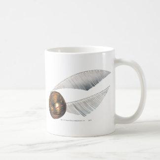 Guld- Snitch Kaffe Kopp