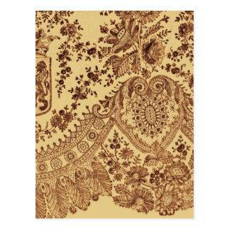 Guld- snöreblommor vykort
