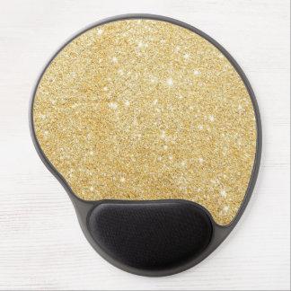 Guld- snyggt för gnistra gel musmatta