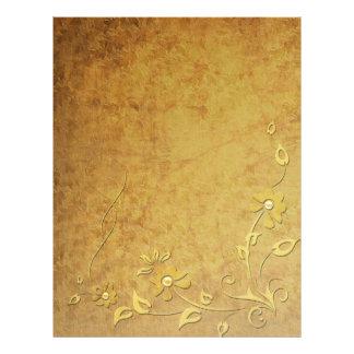 Guld specificerar brevhuvudet brevhuvud