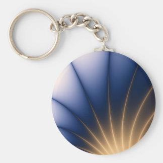 Guld- sprej rund nyckelring