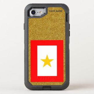 GULD- STJÄRNAMAMMOR OtterBox DEFENDER iPhone 7 SKAL
