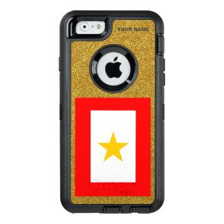 GULD- STJÄRNAMAMMOR OtterBox iPhone 6/6S FODRAL