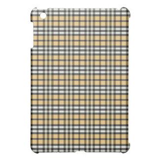Guld/svart pläd Pern iPad Mini Mobil Skydd