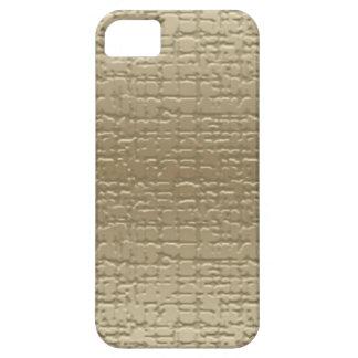 Guld texturerad iphone case iPhone 5 skydd
