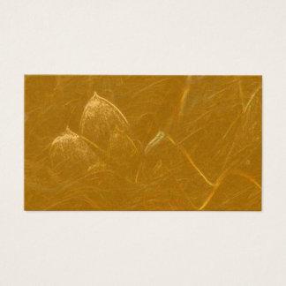 Guld- tom uppsättning för LOTUSBLOMMAlöv av 100 Visitkort