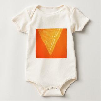Guld- triangel: Orientaliskt firandeSILKEtryck Body För Baby