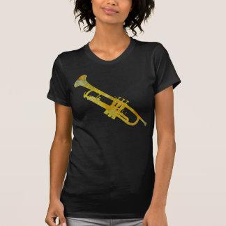 Guld- trumpet t-shirt